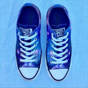 Converse All Star Galaxy Satin Shoes Low Top